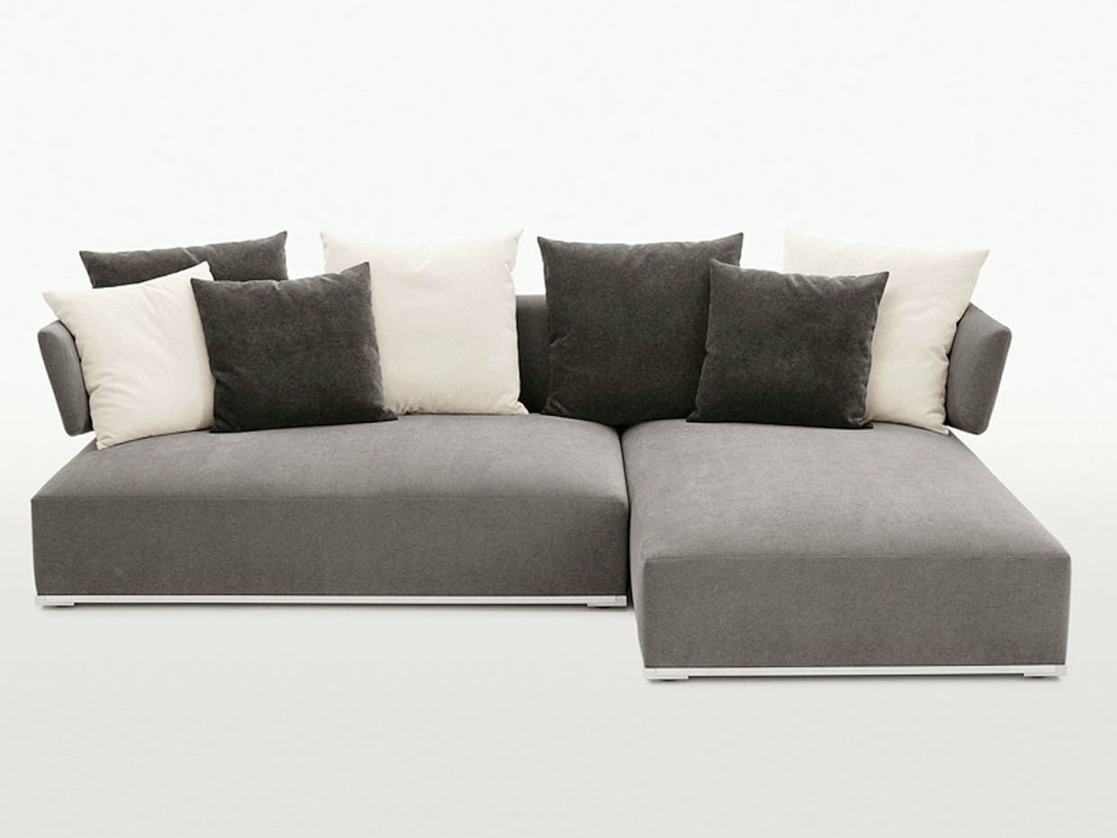 Amoenus corner sofa by maxalto a brand of b b italia spa for B b italia maxalto sofa