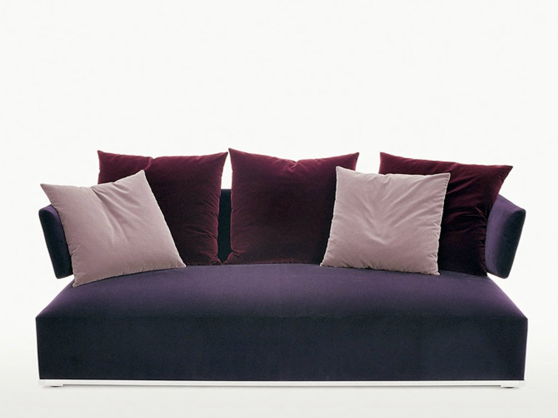 Upholstered fabric sofa amoenus collection by maxalto a for B b italia maxalto sofa