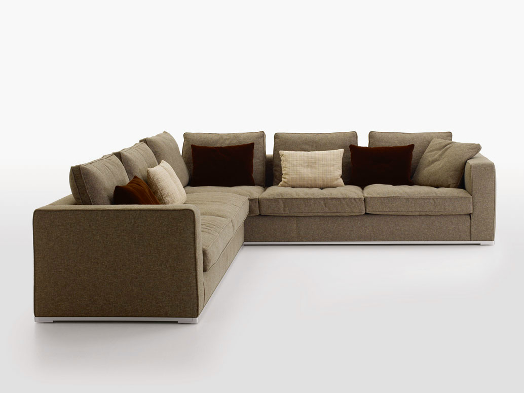 Omnia corner sofa by maxalto a brand of b b italia spa for B b italia maxalto sofa