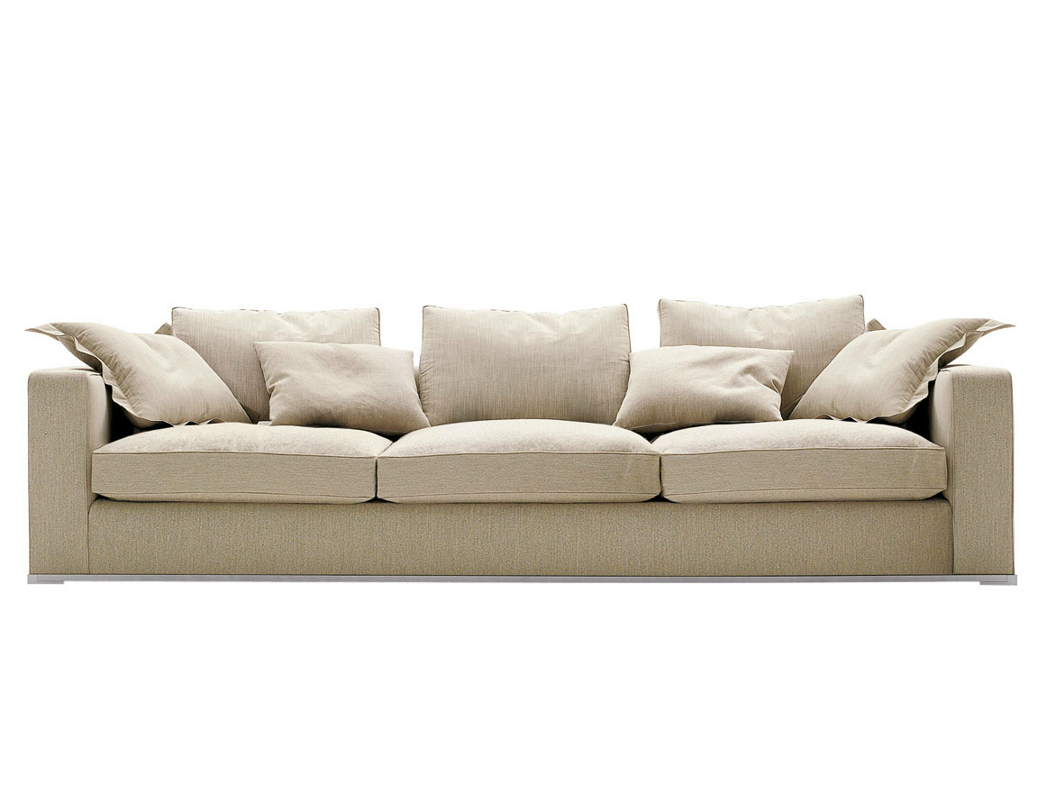 Omnia sofa by maxalto a brand of b b italia spa design for B b italia maxalto sofa