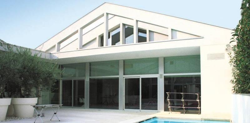 porte fen tre coulissante en aluminium sc 140 tt by aluk group. Black Bedroom Furniture Sets. Home Design Ideas