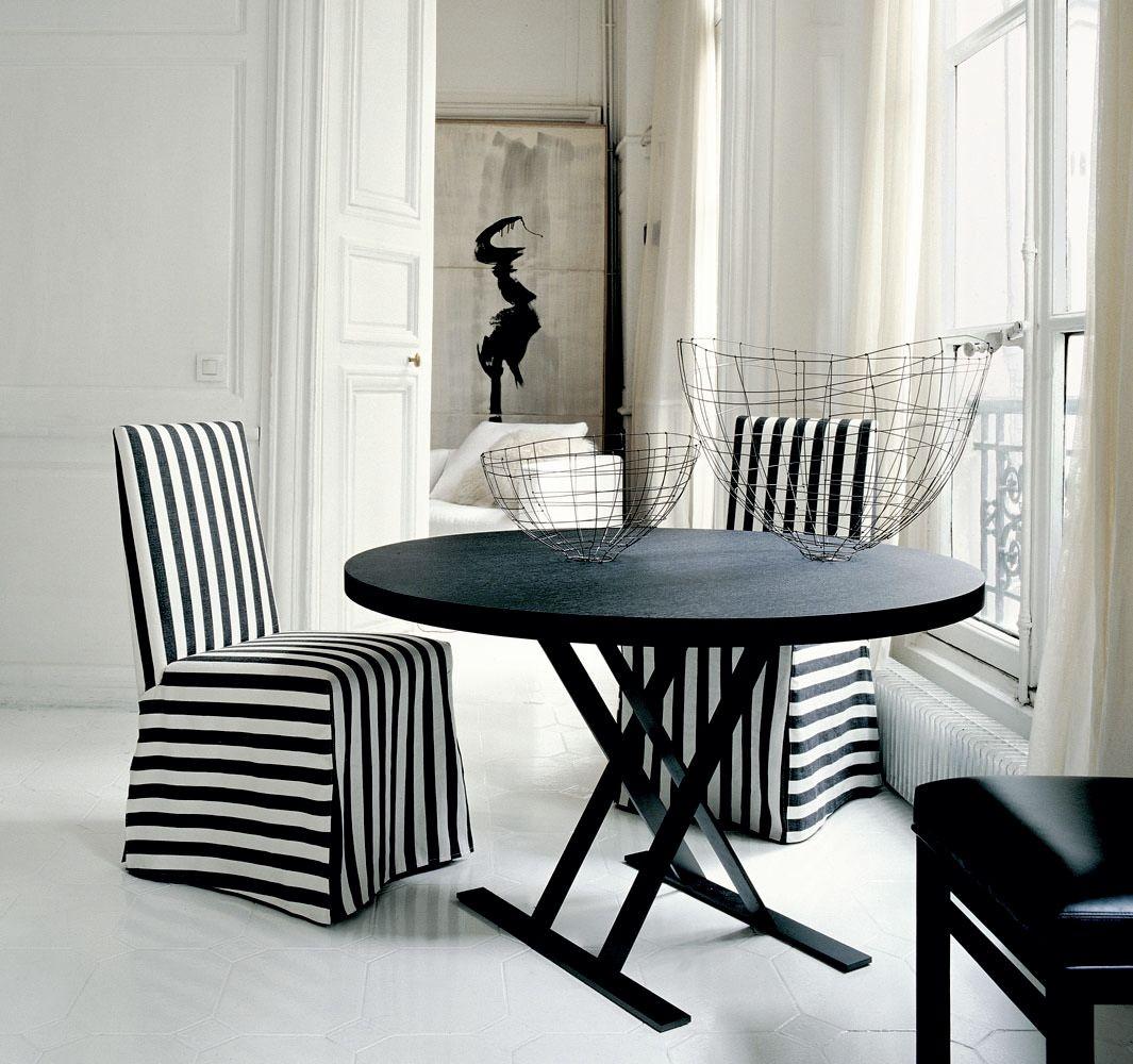 max round table by maxalto a brand of b b italia spa design antonio citterio. Black Bedroom Furniture Sets. Home Design Ideas