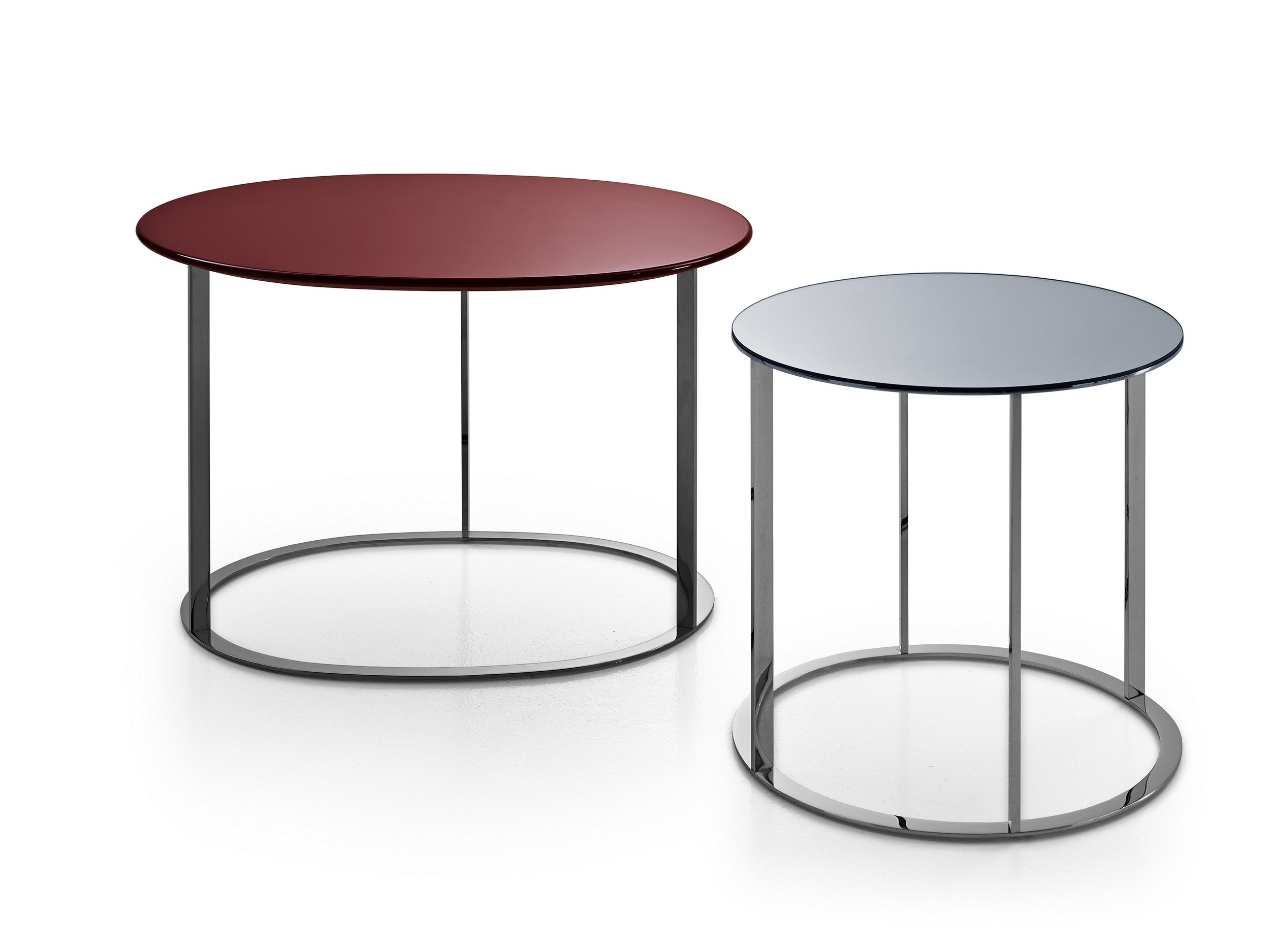 Round Mdf Coffee Table Pathos Collection By Maxalto A Brand Of B B Italia Spa Design Antonio