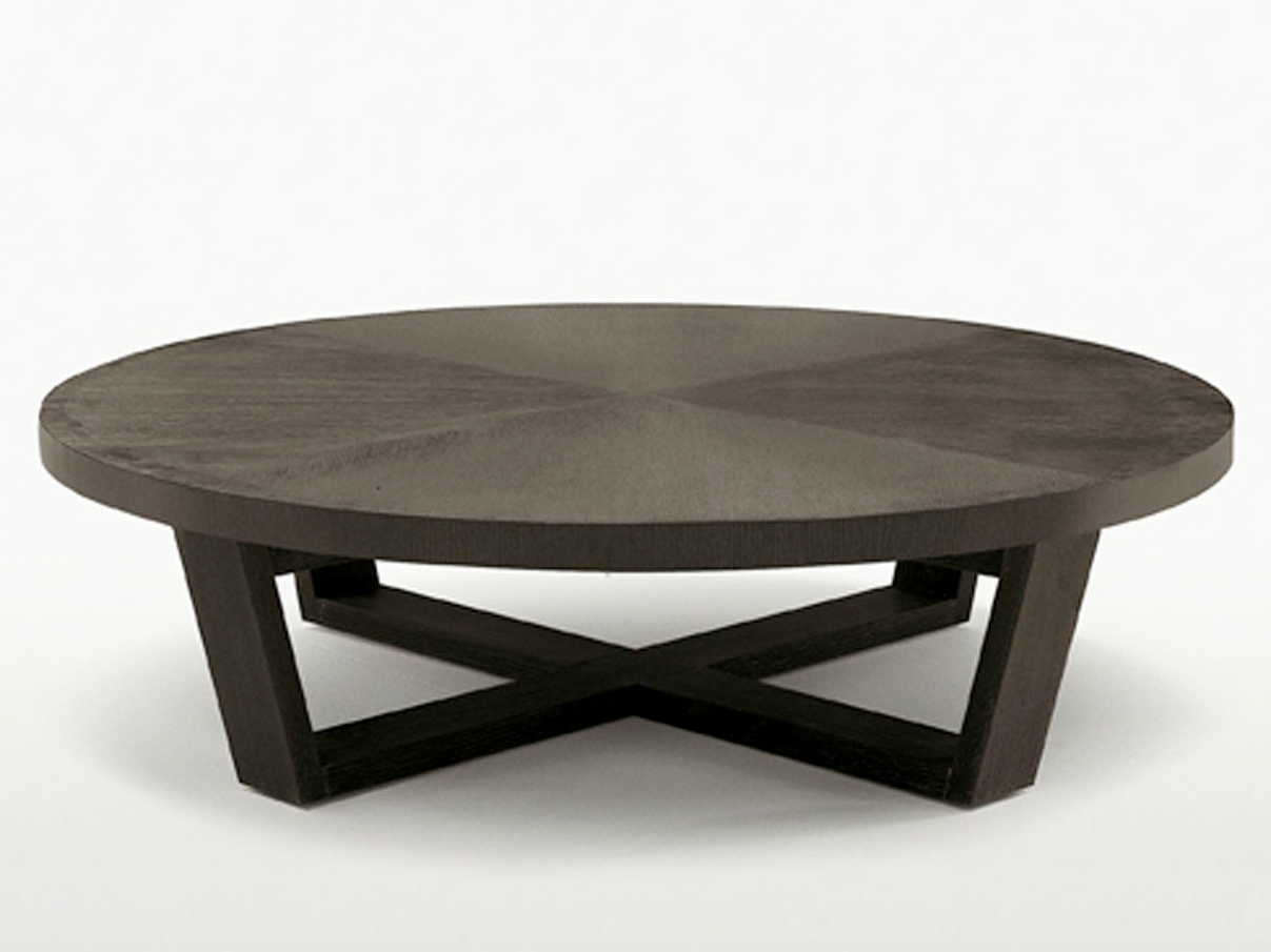 Xilos round coffee table by maxalto a brand of b b italia spa design antonio citterio Round coffee tables