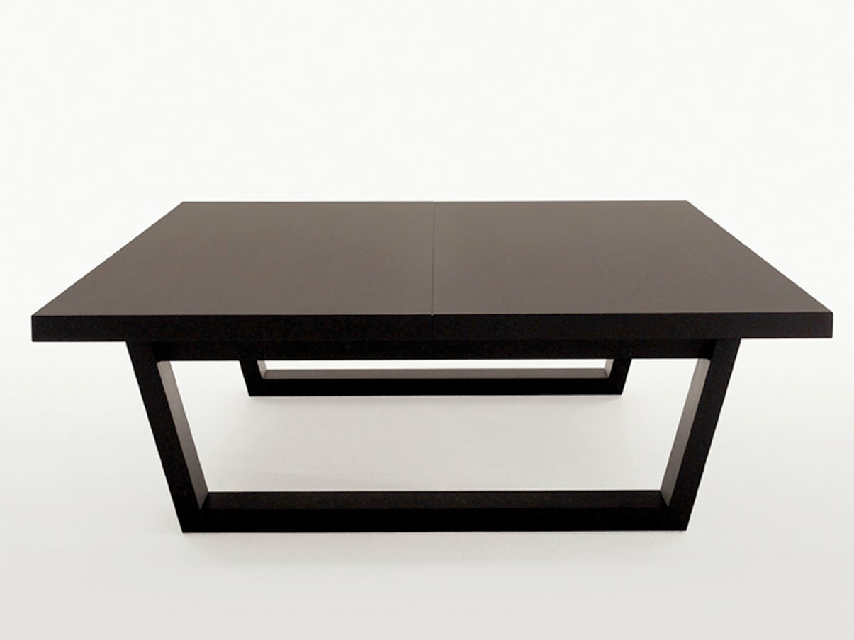 Square Solid Wood Coffee Table Xilos Collection By Maxalto A Brand Of B B Italia Spa Design