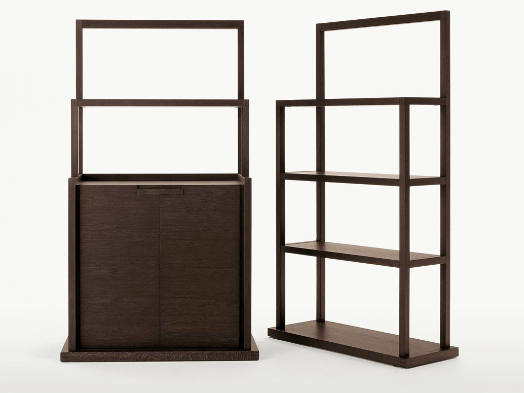 Wonderful image of  bookcase INCIPIT Bookcase Maxalto a brand of B&B Italia Spa with #362820 color and 1034x775 pixels