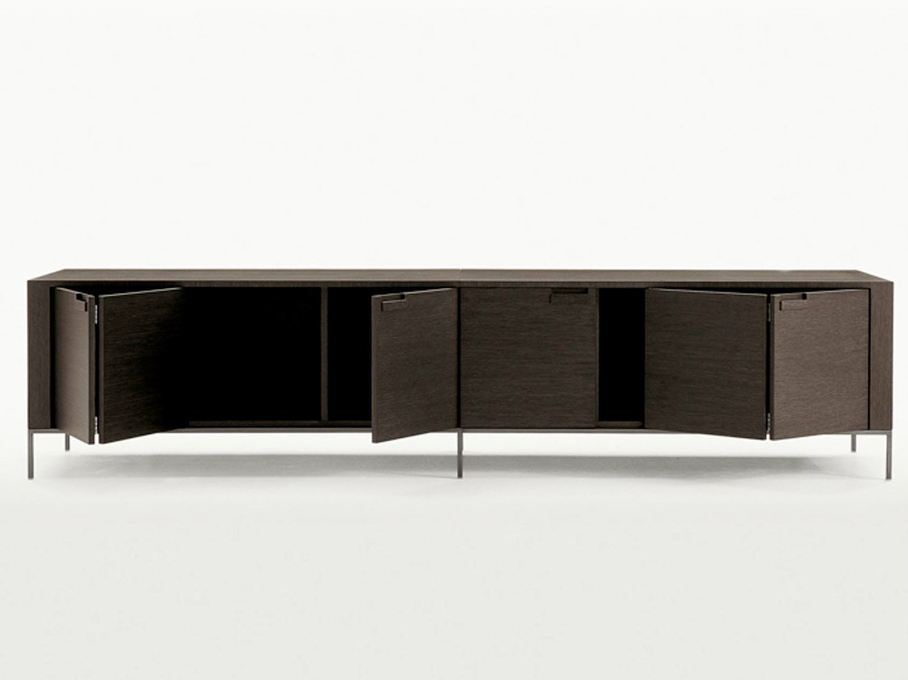 wooden sideboard with doors titanes collection by maxalto a brand of b b italia spa design. Black Bedroom Furniture Sets. Home Design Ideas