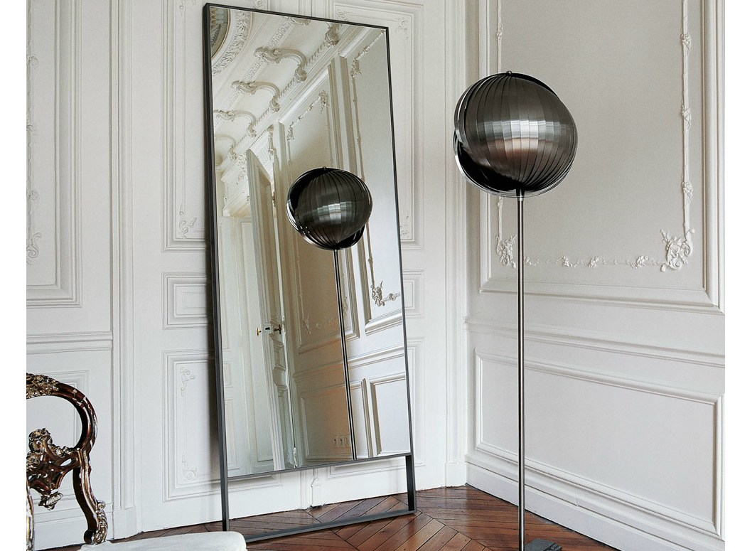 Miroir sur pied rectangulaire PSICHE by Maxalto, a brand of B&B ...