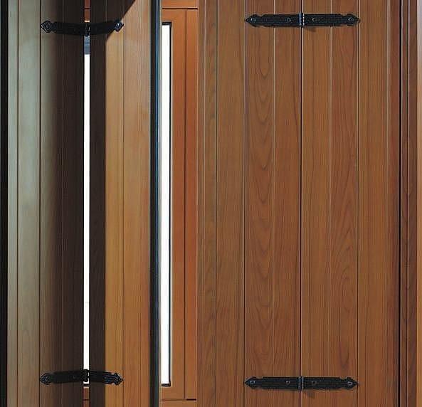 Scuri in alluminio sv 30 by aluk group for Scuri in legno prezzi
