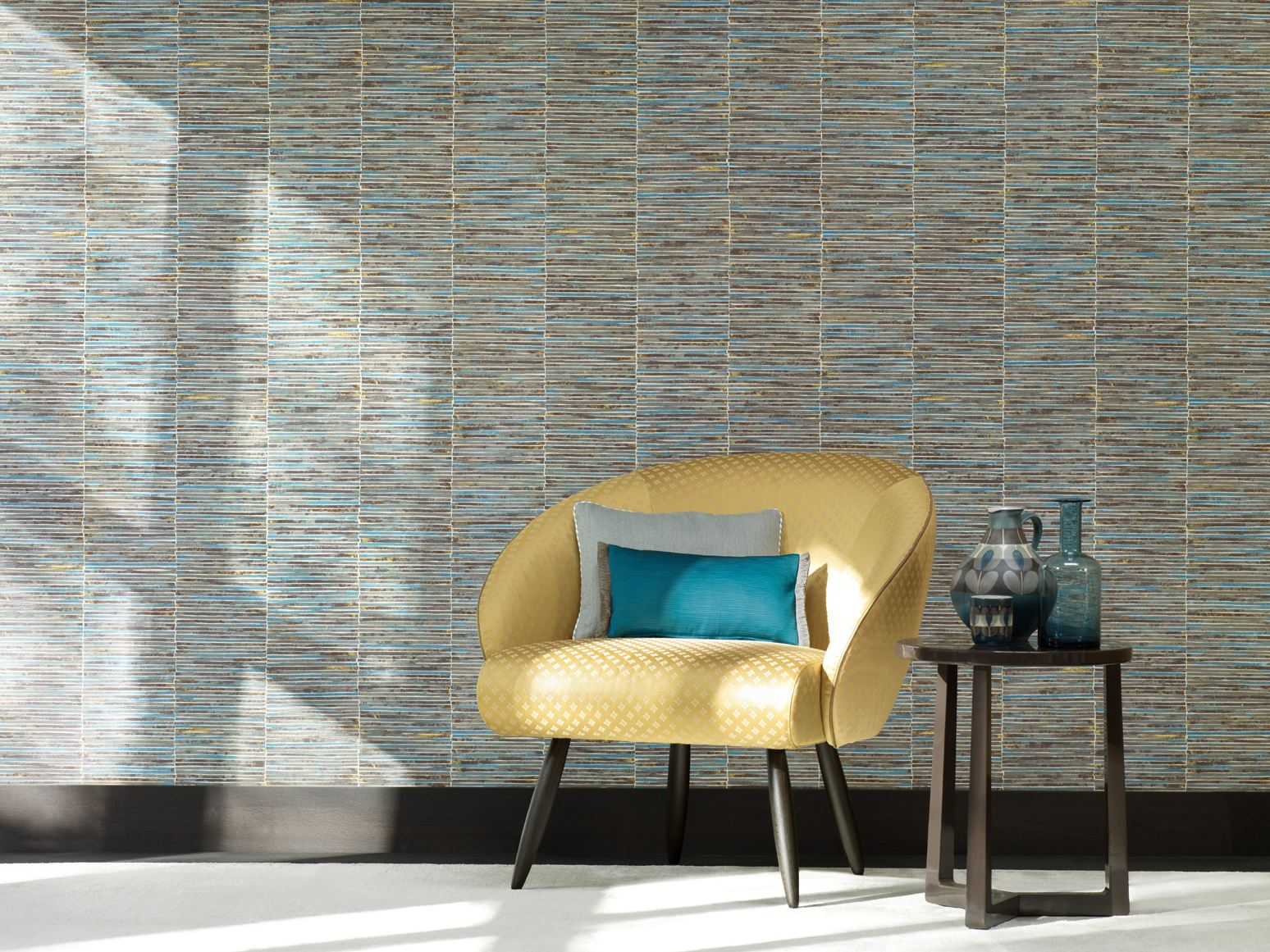vinyl wallpaper palisade reflection collection by zimmer. Black Bedroom Furniture Sets. Home Design Ideas