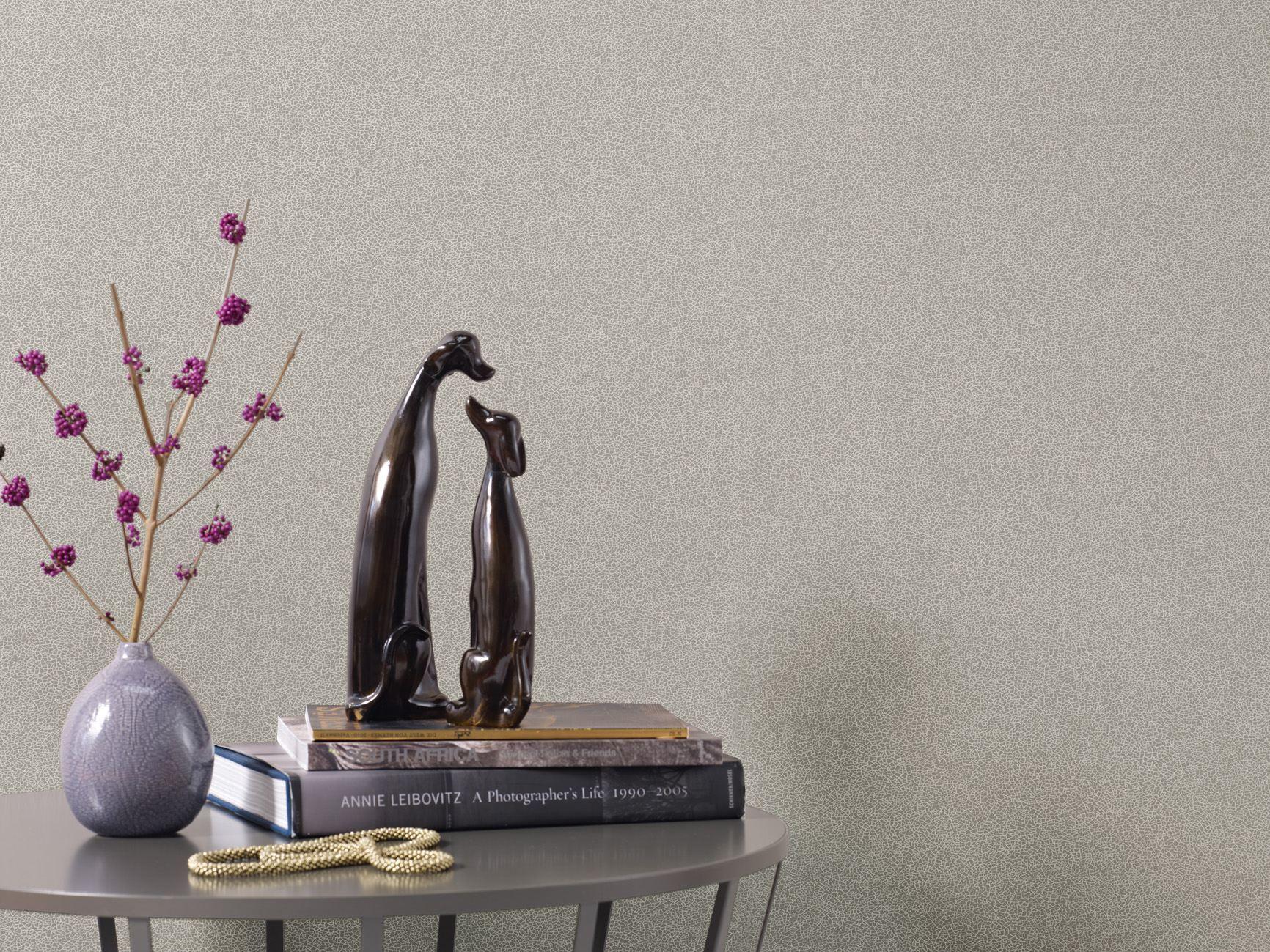 nonwoven wallpaper glaze by zimmer rohde. Black Bedroom Furniture Sets. Home Design Ideas