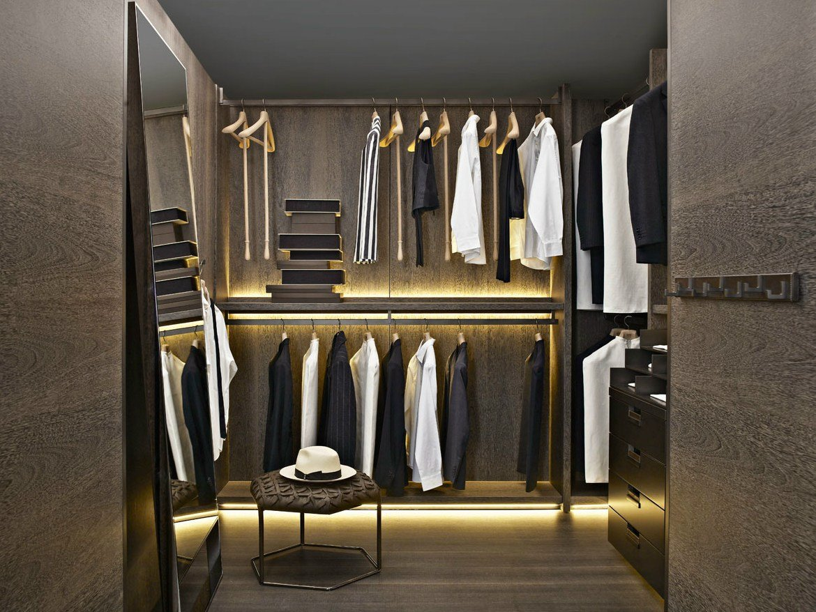 Cabina armadio backstage by b b italia design antonio citterio for Garderobe 3d dwg