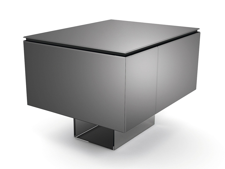 barschrank aus glasspiegel bacco by gallotti radice design. Black Bedroom Furniture Sets. Home Design Ideas