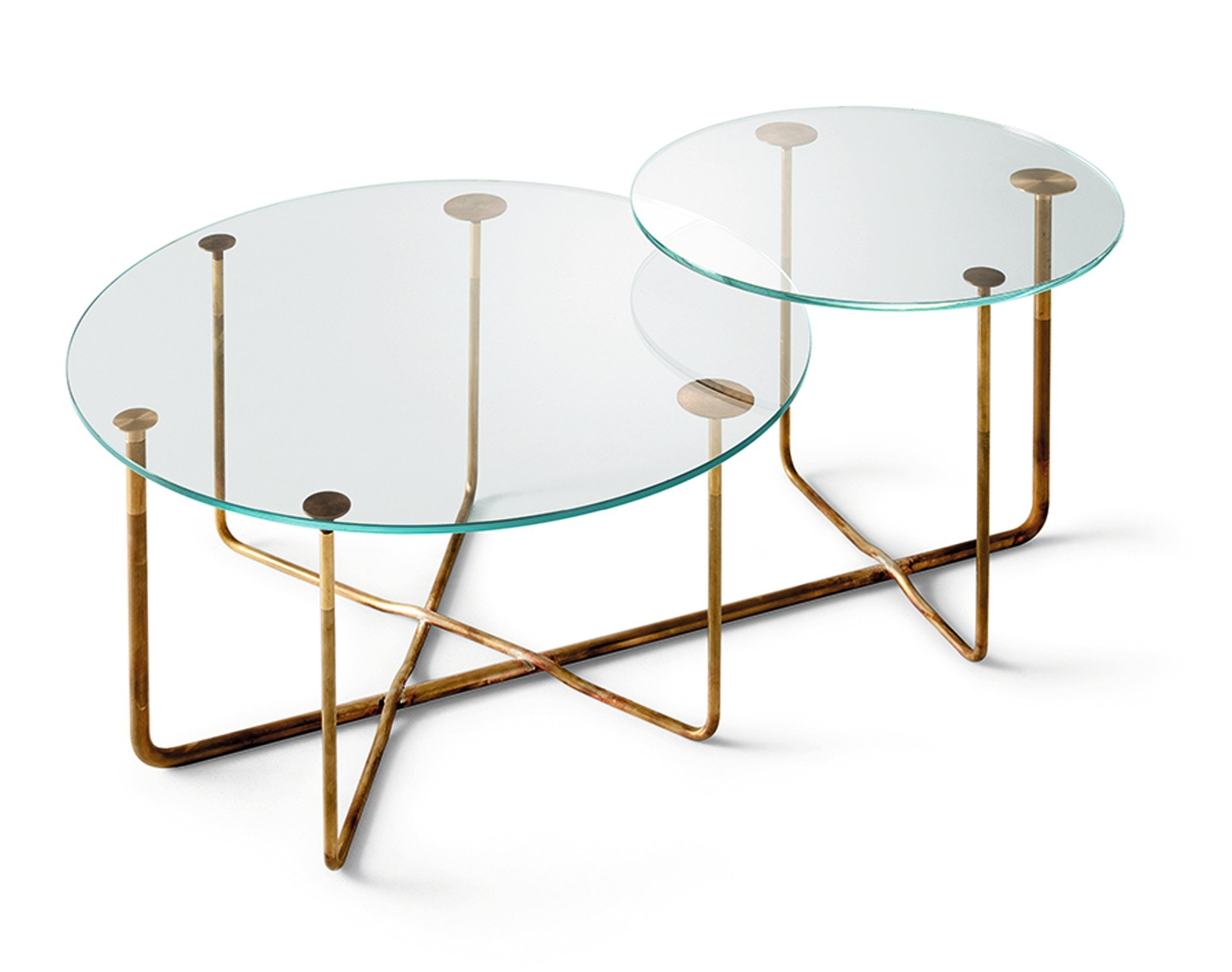 Round Crystal Coffee Table Connection Round Coffee Table