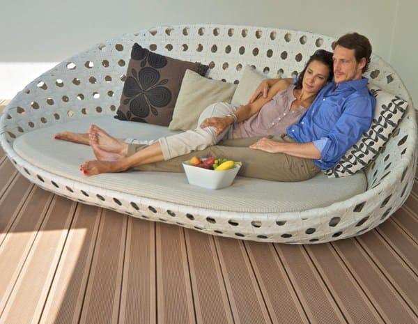 parquet ext rieur en bois composite terrasse el gance rainur e by silvadec. Black Bedroom Furniture Sets. Home Design Ideas