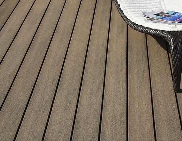 Decking in legno composito LAMA EMOTION by Silvadec