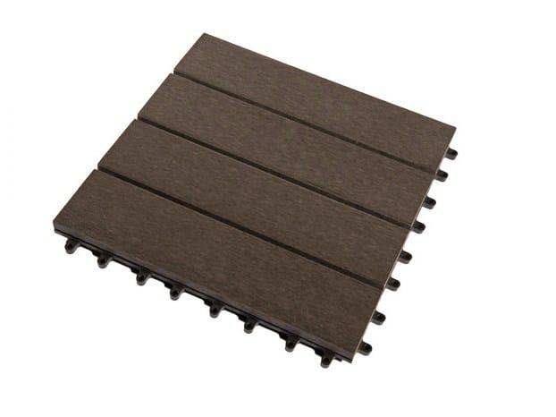 parquet ext rieur en bois composite caillebotis by silvadec. Black Bedroom Furniture Sets. Home Design Ideas