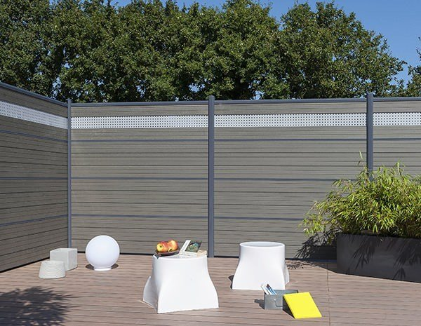 Claustra Bois Jardin : Wood Fence Partitions