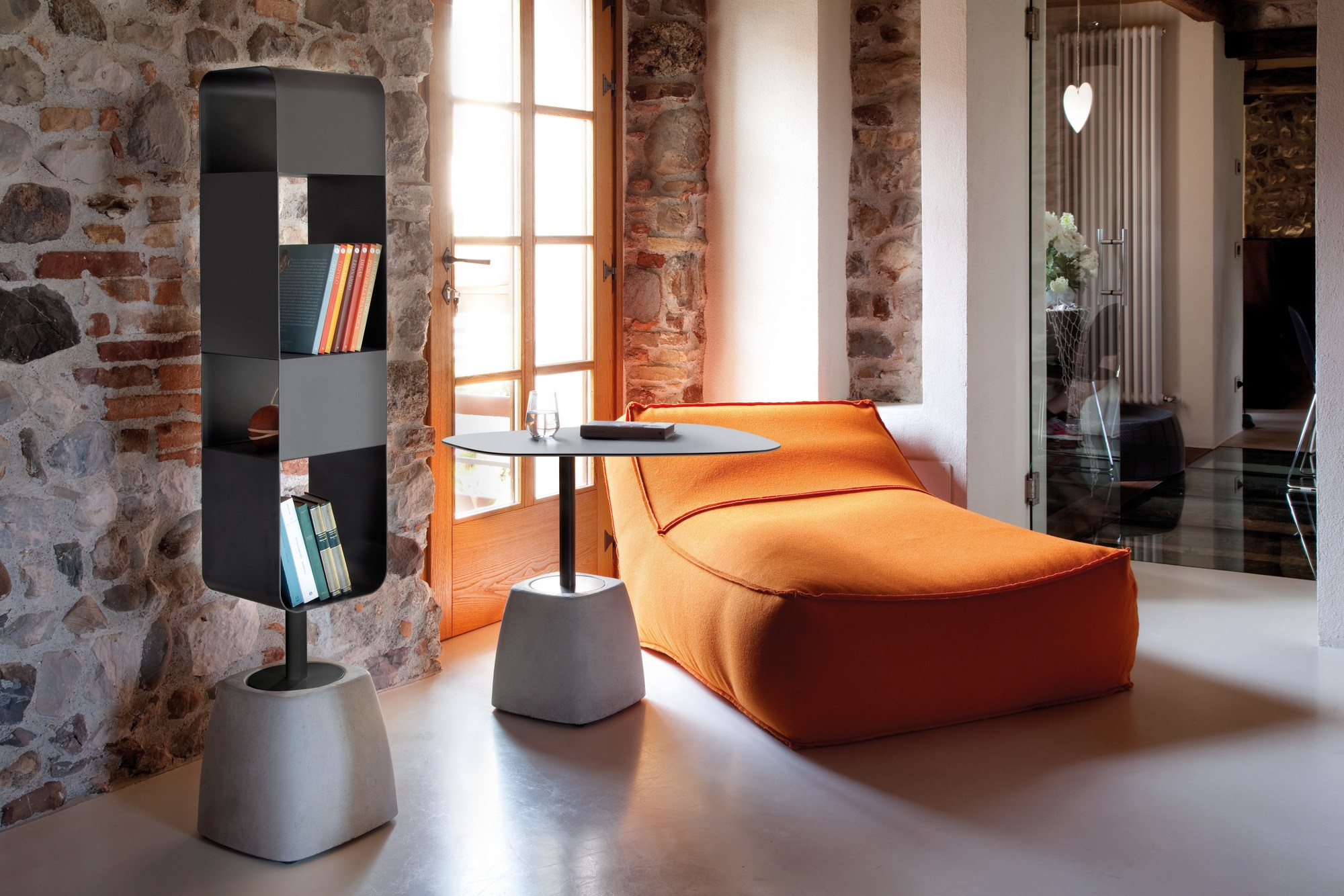 urban b libreria by domitalia design radice orlandini. Black Bedroom Furniture Sets. Home Design Ideas
