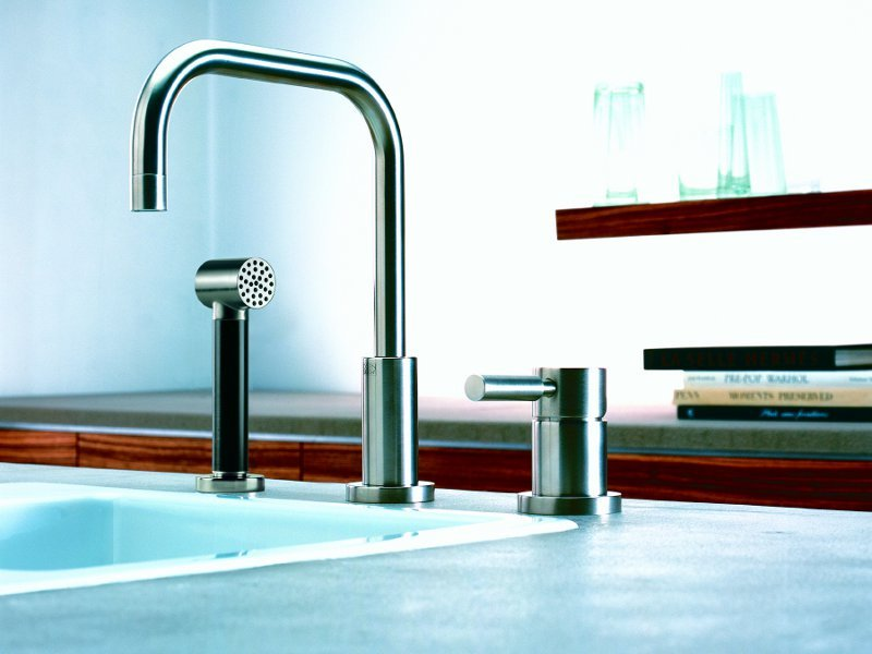 contemporary style kitchen tap by dornbracht. Black Bedroom Furniture Sets. Home Design Ideas