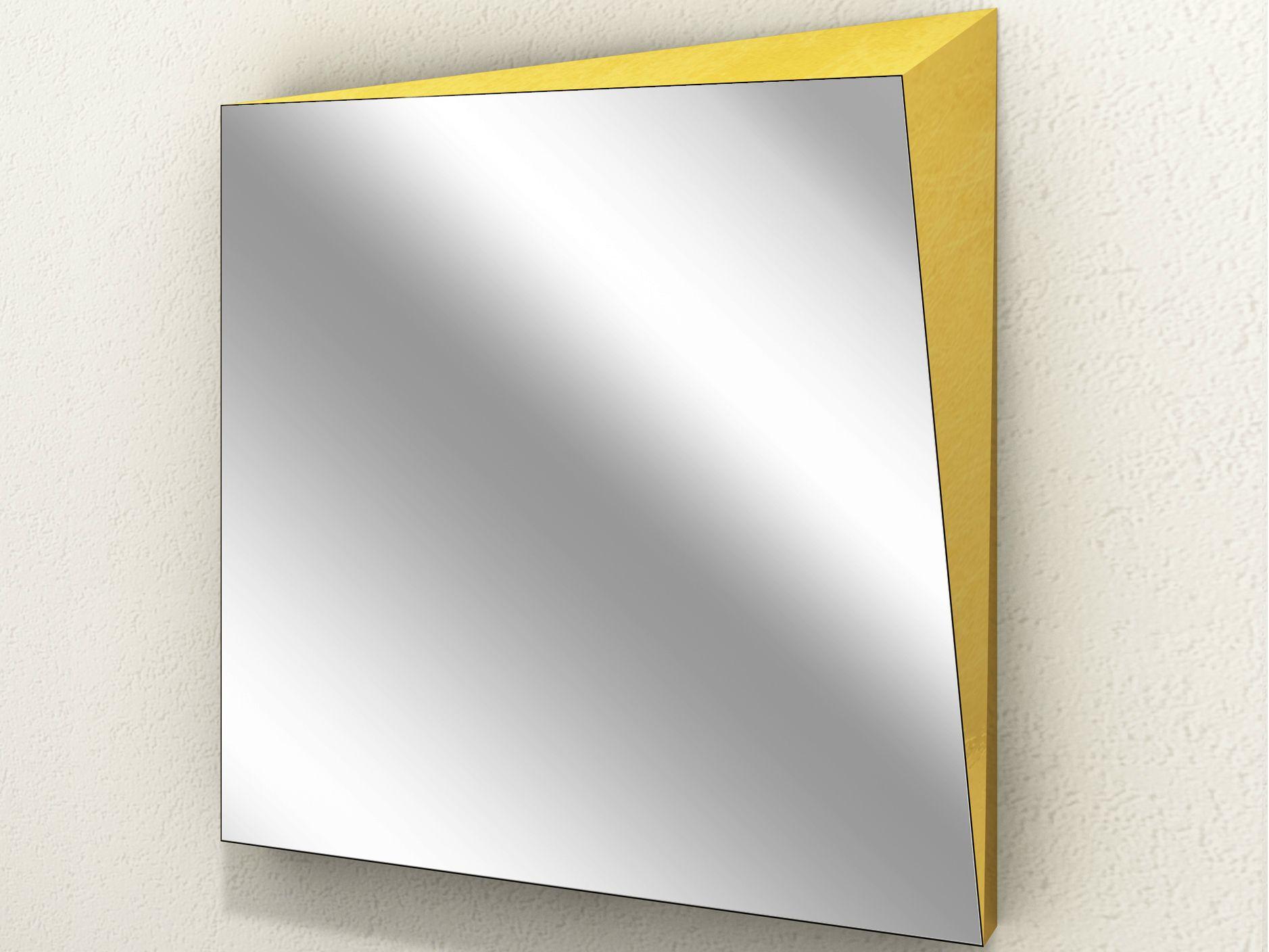 Specchio Quadrato A Parete Lingotto Collezione Dream By
