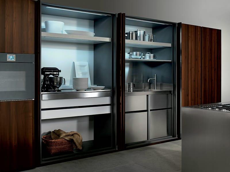 k che mit k cheninsel ohne griffe kollektion ht50 by rossana. Black Bedroom Furniture Sets. Home Design Ideas