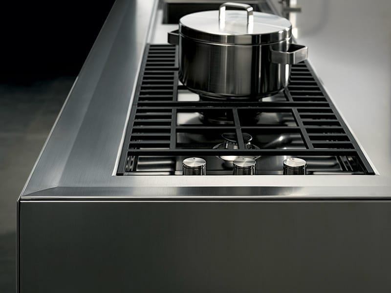 Cuisine lin aire sans poign es collection ht50 by rossana for Cuisine lineaire 4 metres