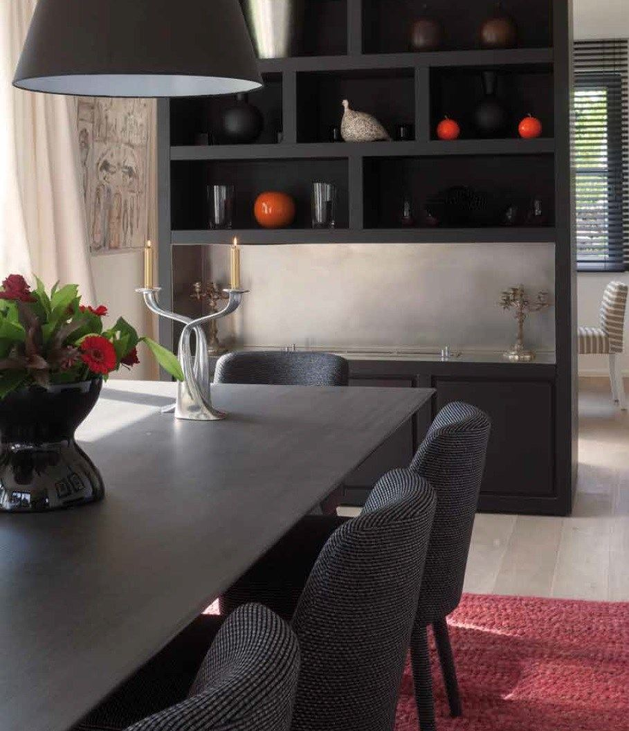 cheminee ensemble mural by ph collection. Black Bedroom Furniture Sets. Home Design Ideas