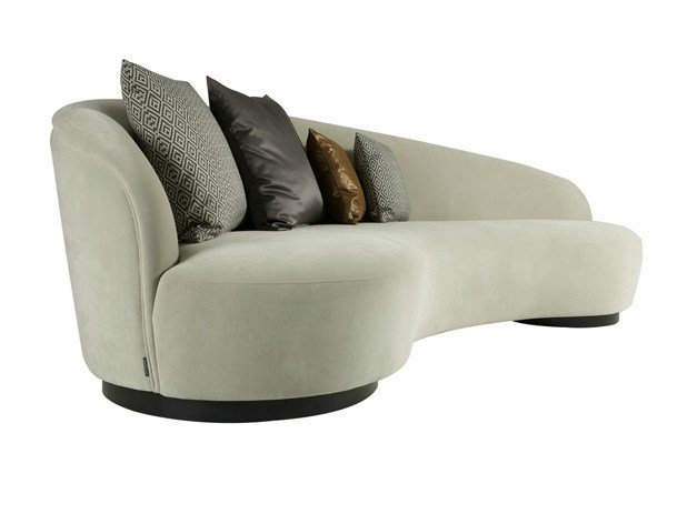 Fabric small sofa IGNACIO L by Hamilton Conte Paris design ...