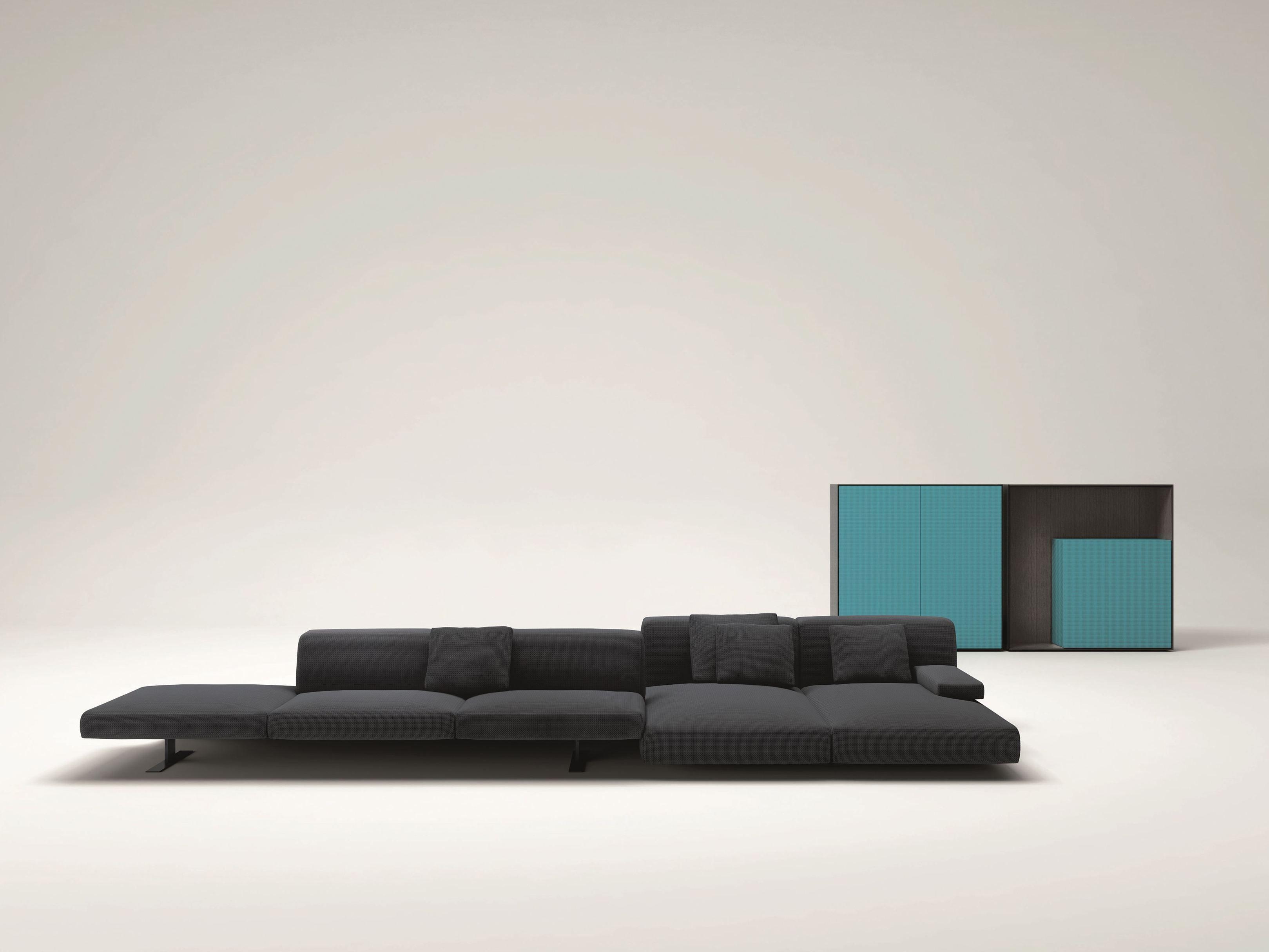 Divano modulare move by paola lenti design francesco rota for Paola lenti
