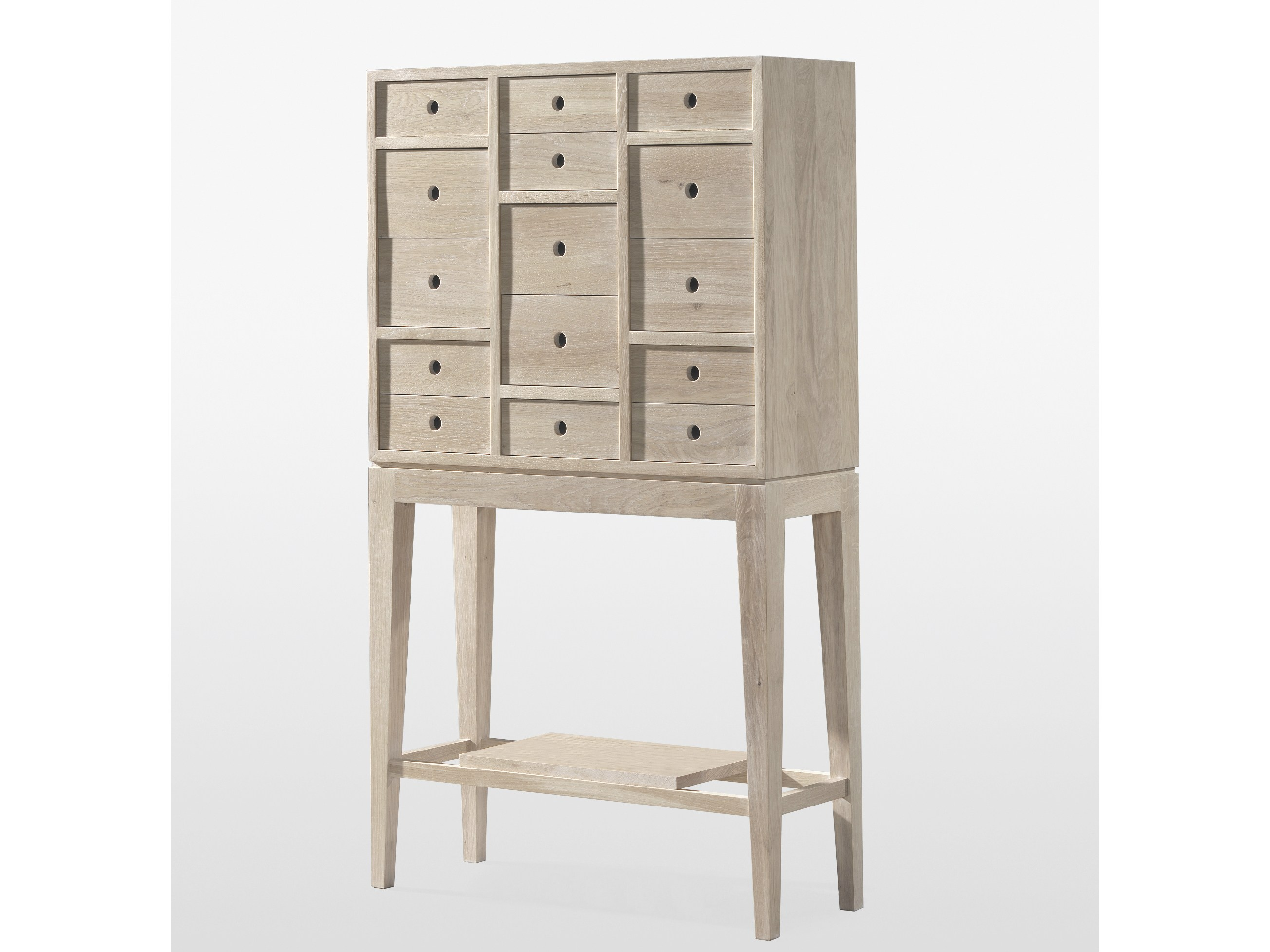 chiffonnier en bois massif contador by wewood design wewood design center. Black Bedroom Furniture Sets. Home Design Ideas