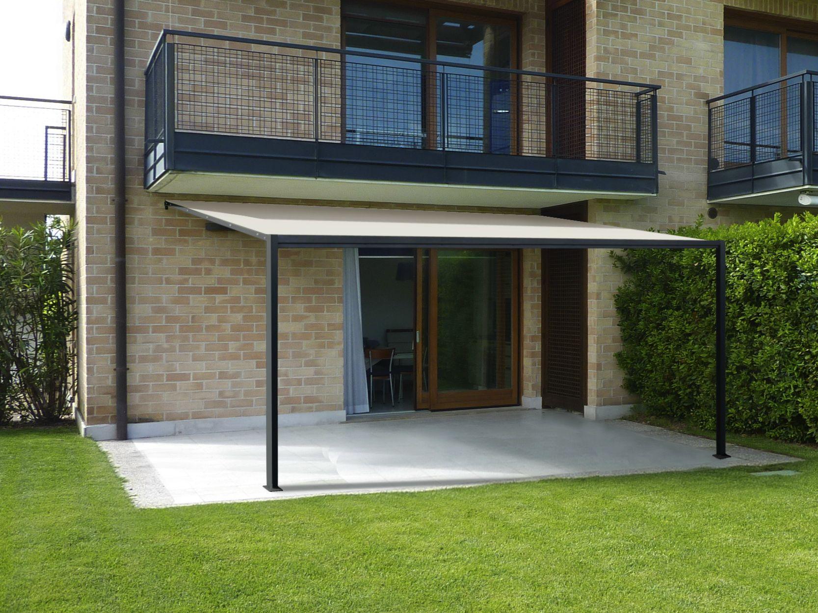 ottoemezzo terrassen berdachung by unosider. Black Bedroom Furniture Sets. Home Design Ideas