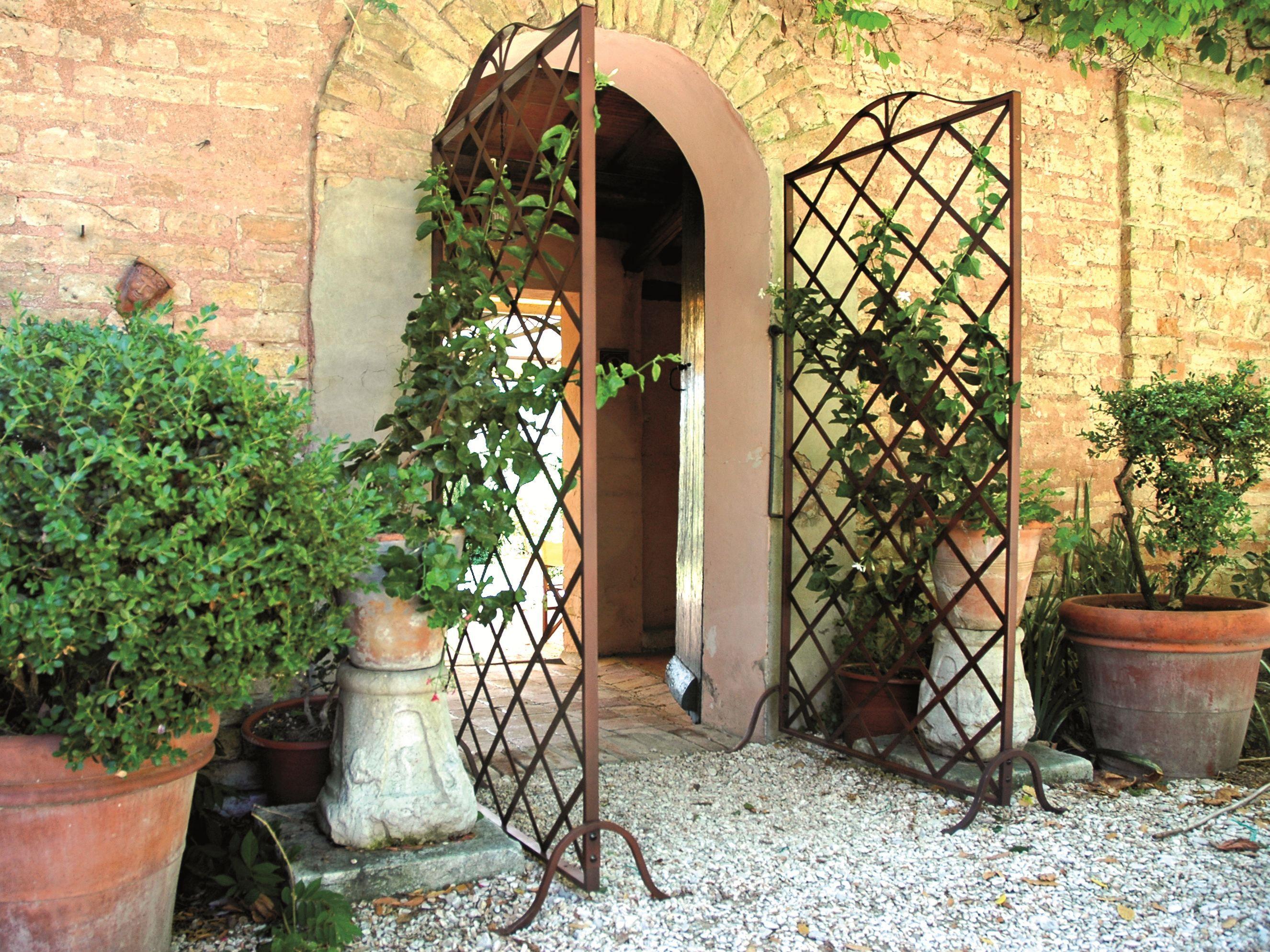 Separador de ambientes para exteriores grigliato by unosider - Separador jardin ...