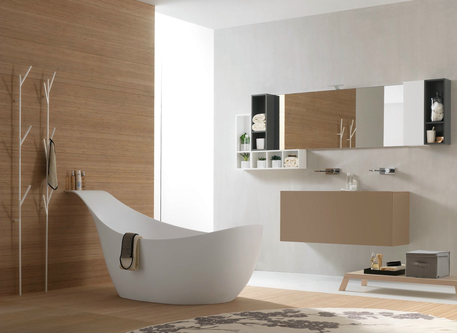 Salle de bains compl te canestro composition c10 for Tarif salle de bain complete