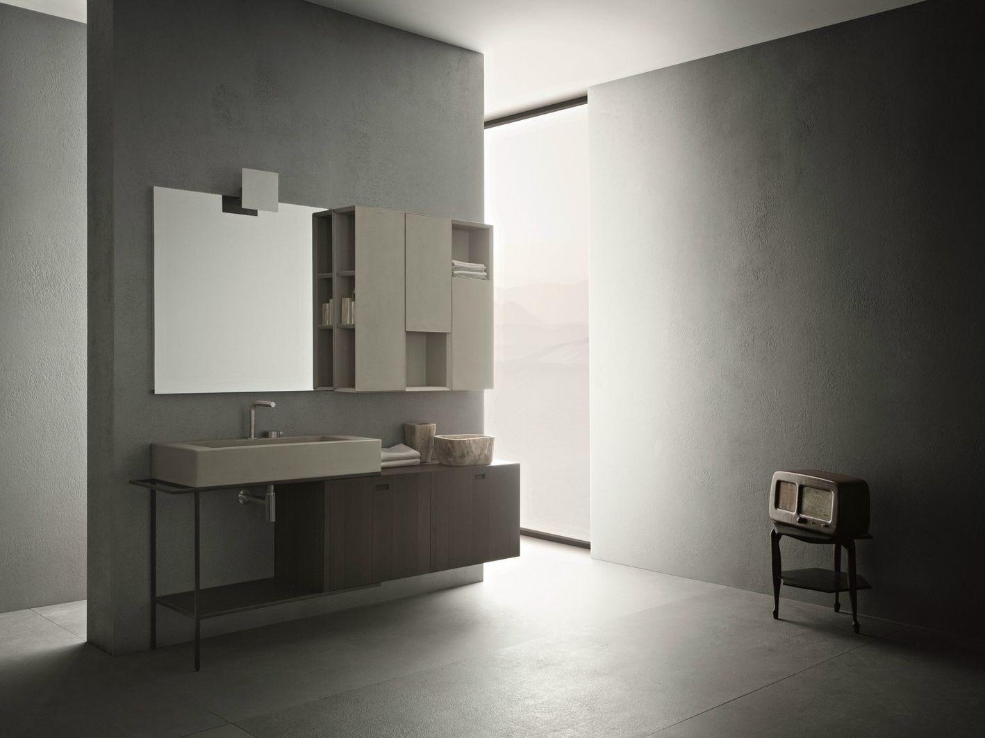 Arredo bagno completo craft composizione n05 collezione - Arredo bagno completo ...