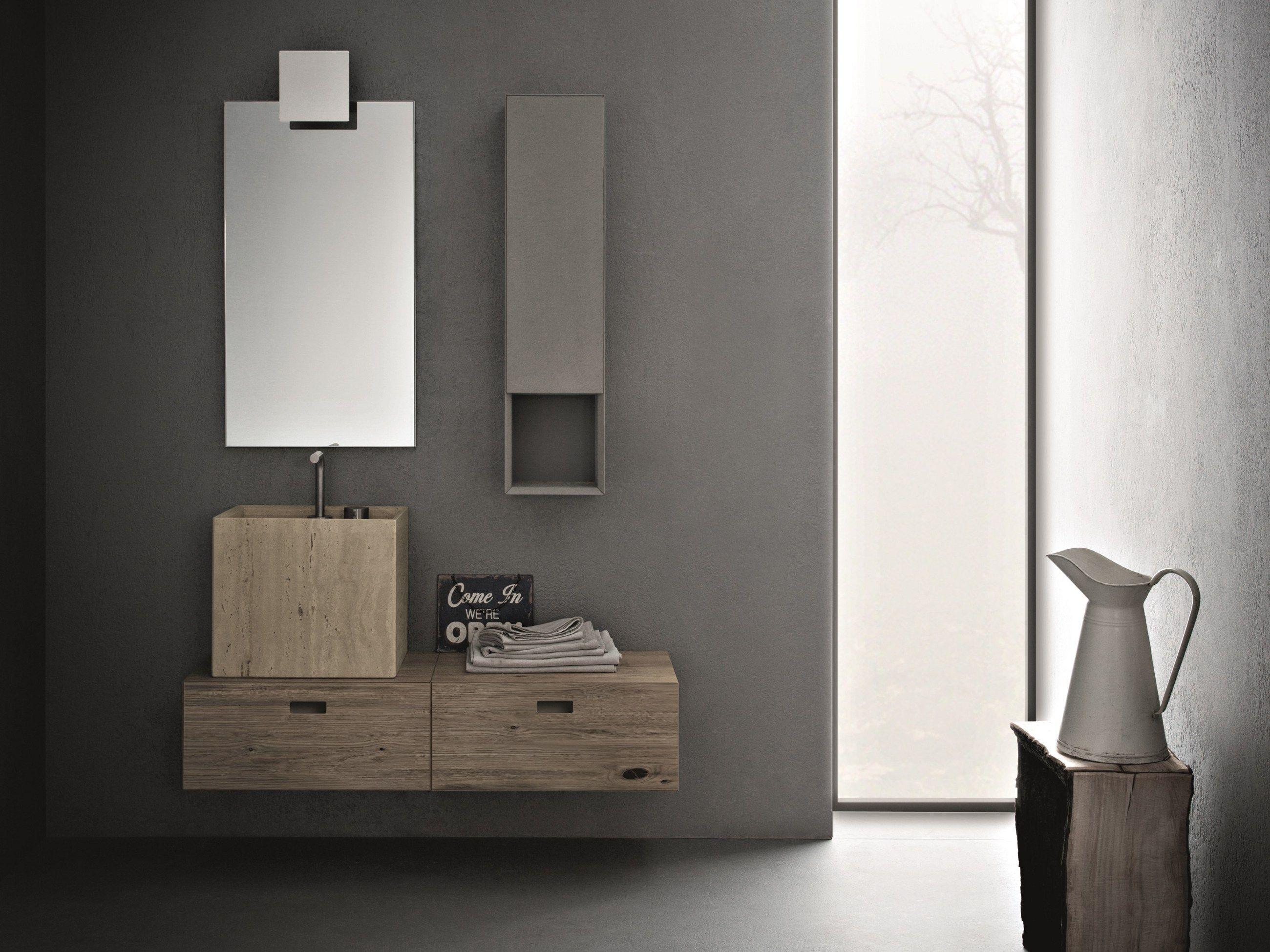 Bathroom furniture set craft composition n07 by novello for Planner bagno 3d