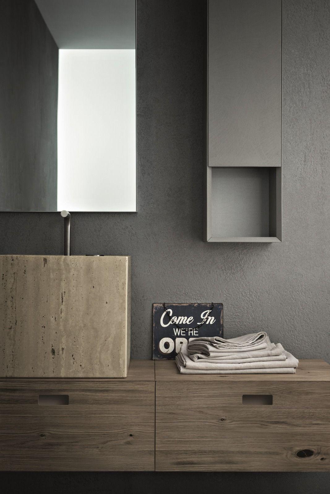 Arredo bagno completo CRAFT - COMPOSIZIONE N07 by NOVELLO design ...