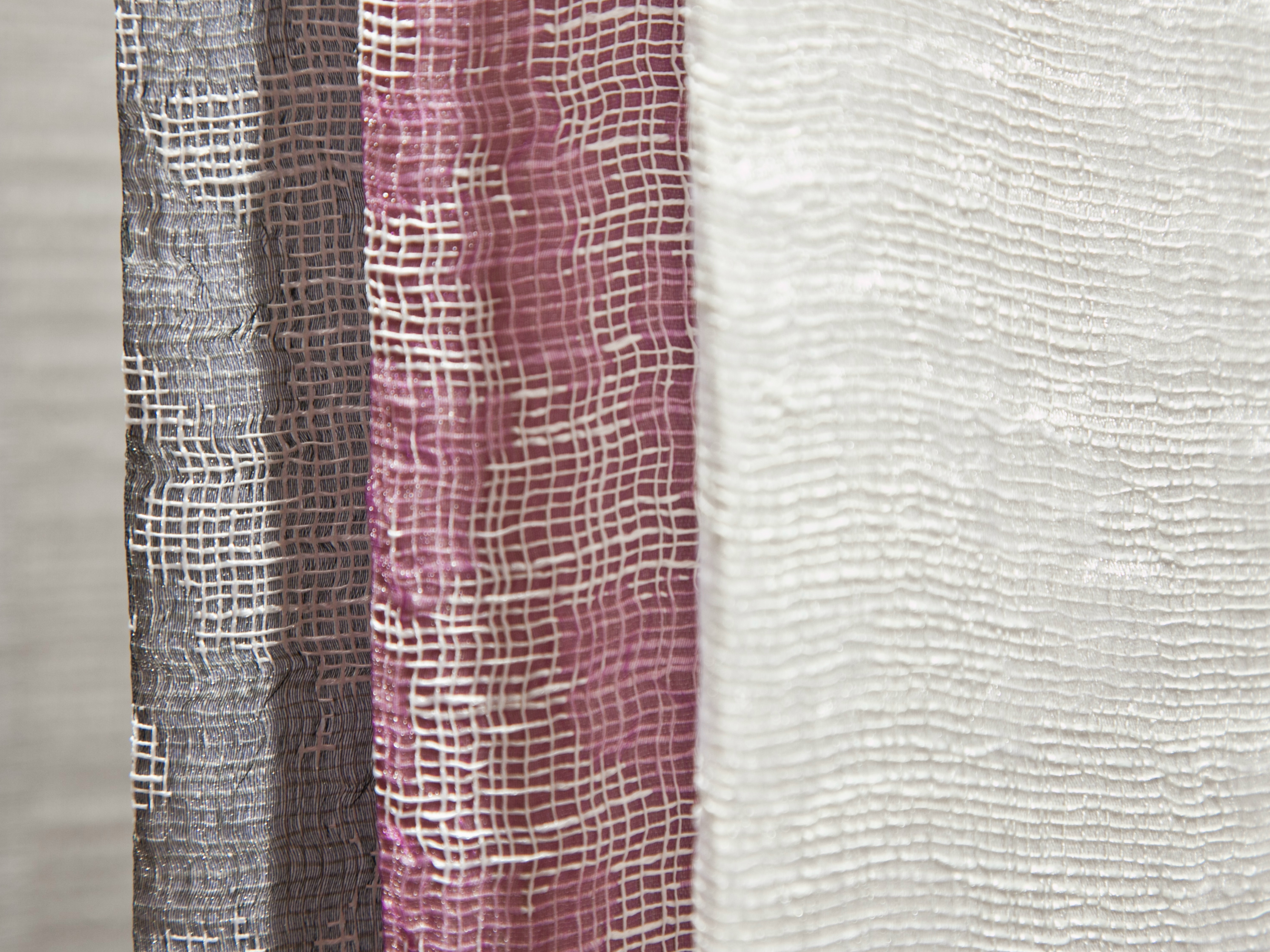 Tejido jacquard de poli ster para cortinas teseo by equipo - Tejidos de cortinas ...