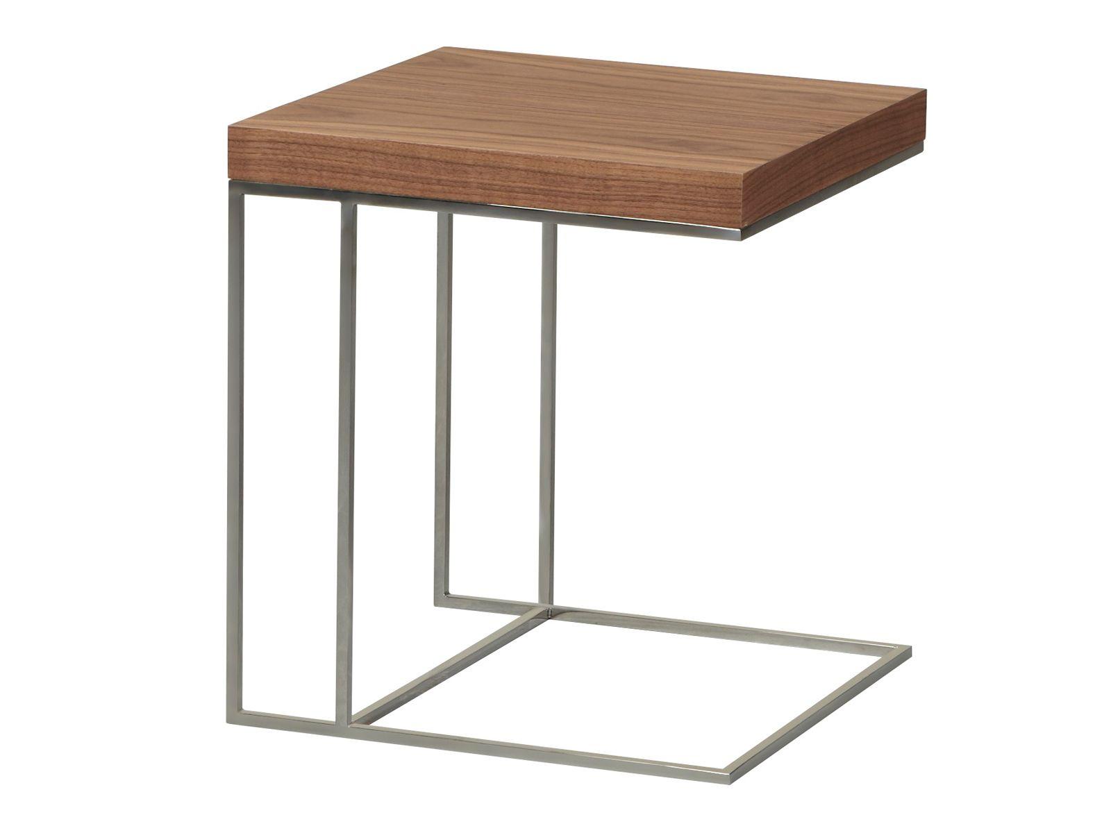 Mesa auxiliar baja de chapada en madera kam by azea dise o - Mesa auxiliar diseno ...