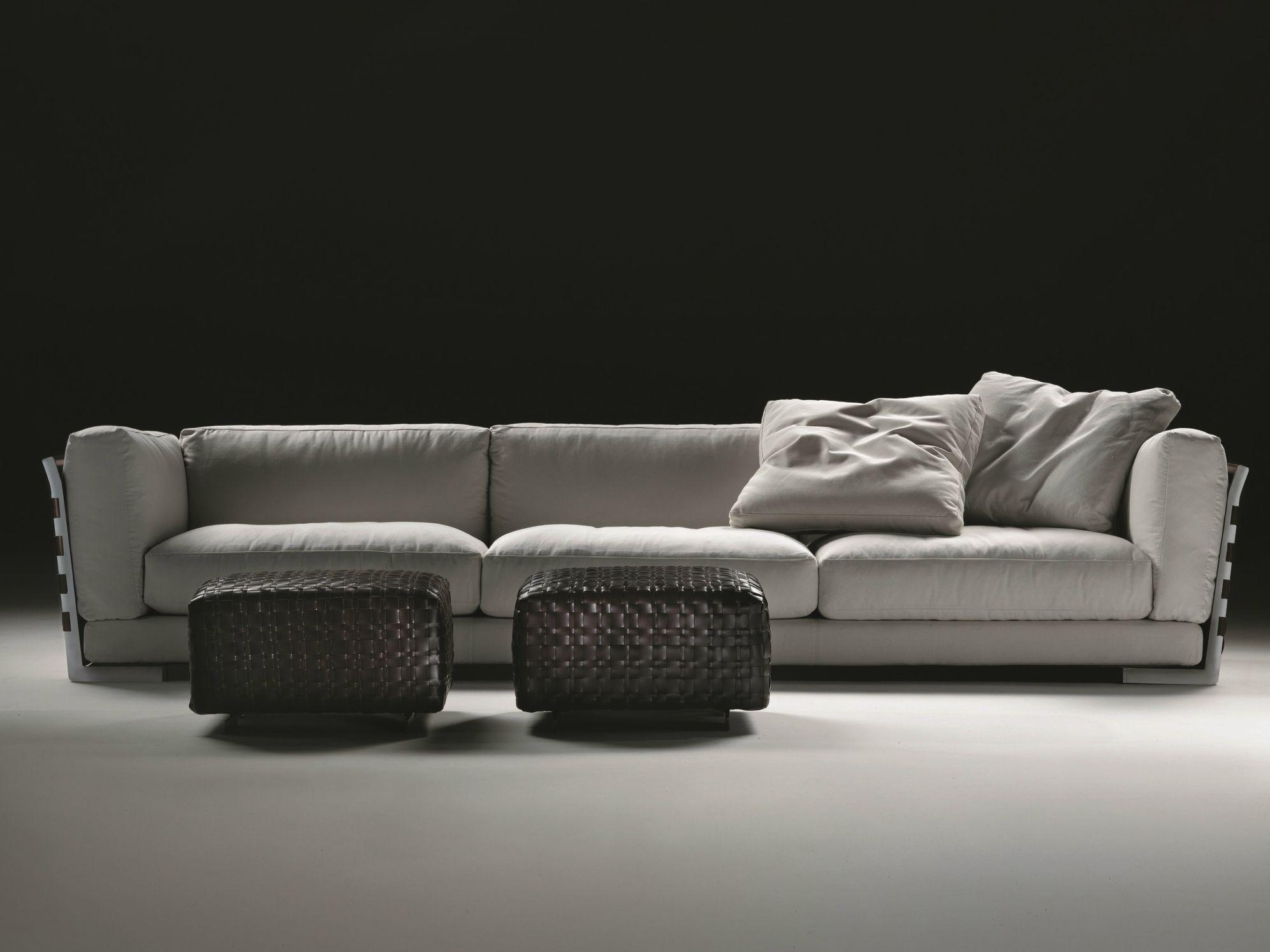 Cestone 09 divano by flexform design antonio citterio for Divano sfoderabile