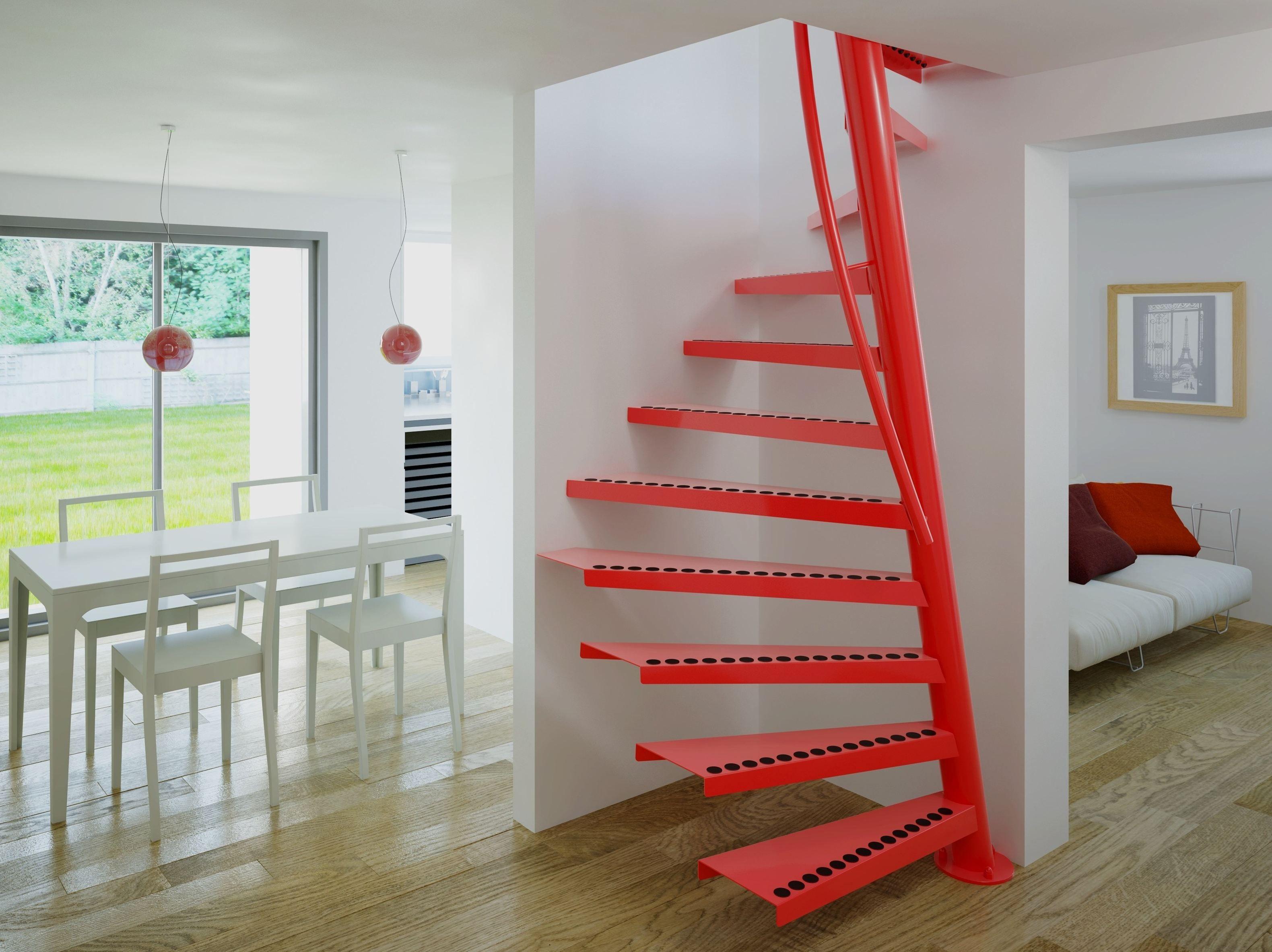 escaleras de caracol interiores