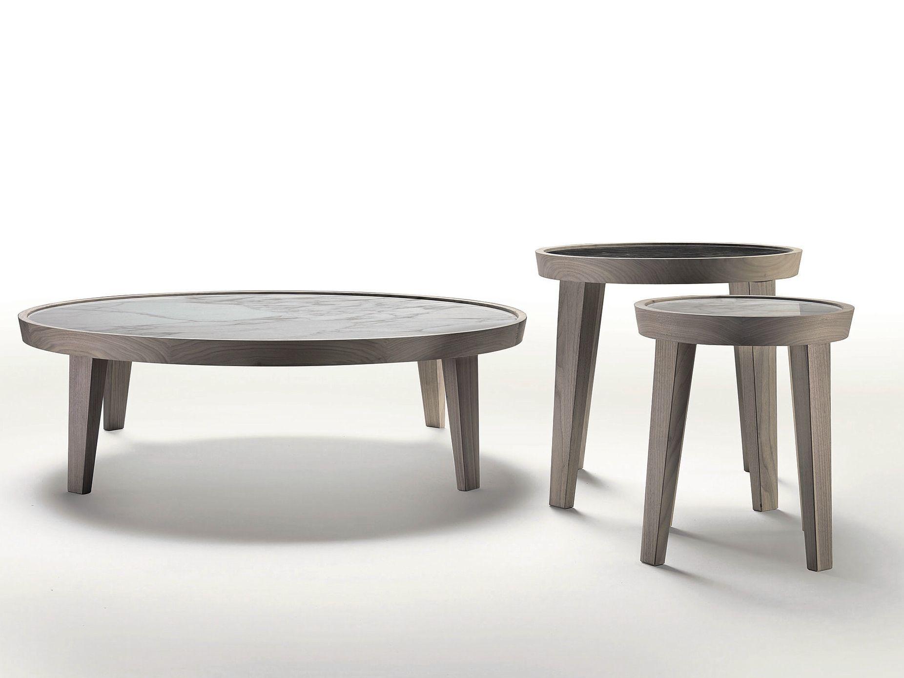 Dida runder couchtisch by flexform design centro studi for Runder couchtisch design