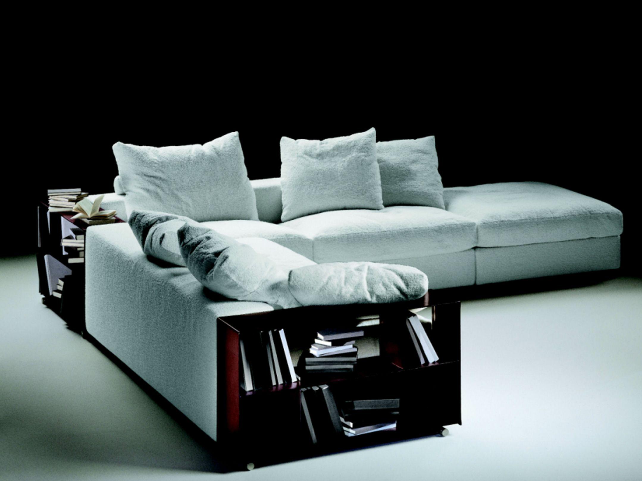 Groundpiece divano angolare by flexform design antonio for Flexform groundpiece