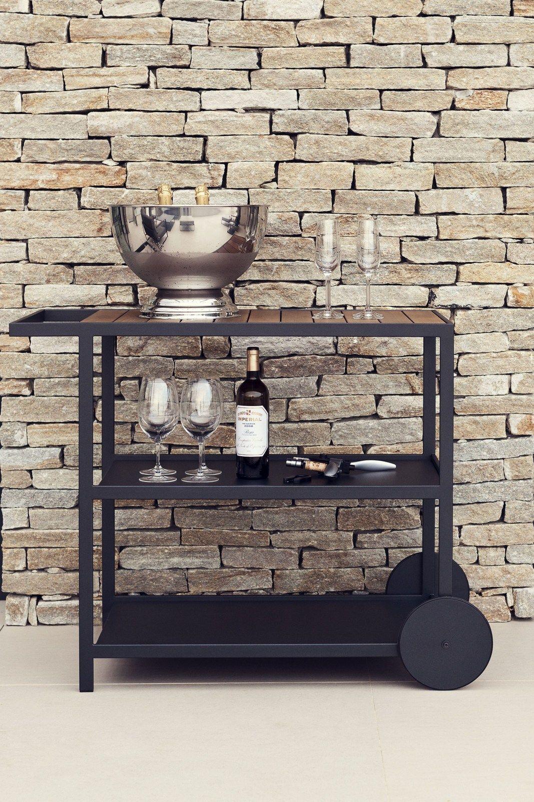 garden servierwagen by r shults design brda broberg ridderstr le. Black Bedroom Furniture Sets. Home Design Ideas