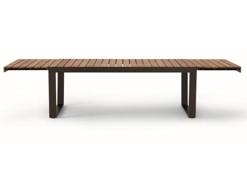 Gartentisch holz metall ausziehbar  SPINNAKER By RODA Design Gordon Guillaumier