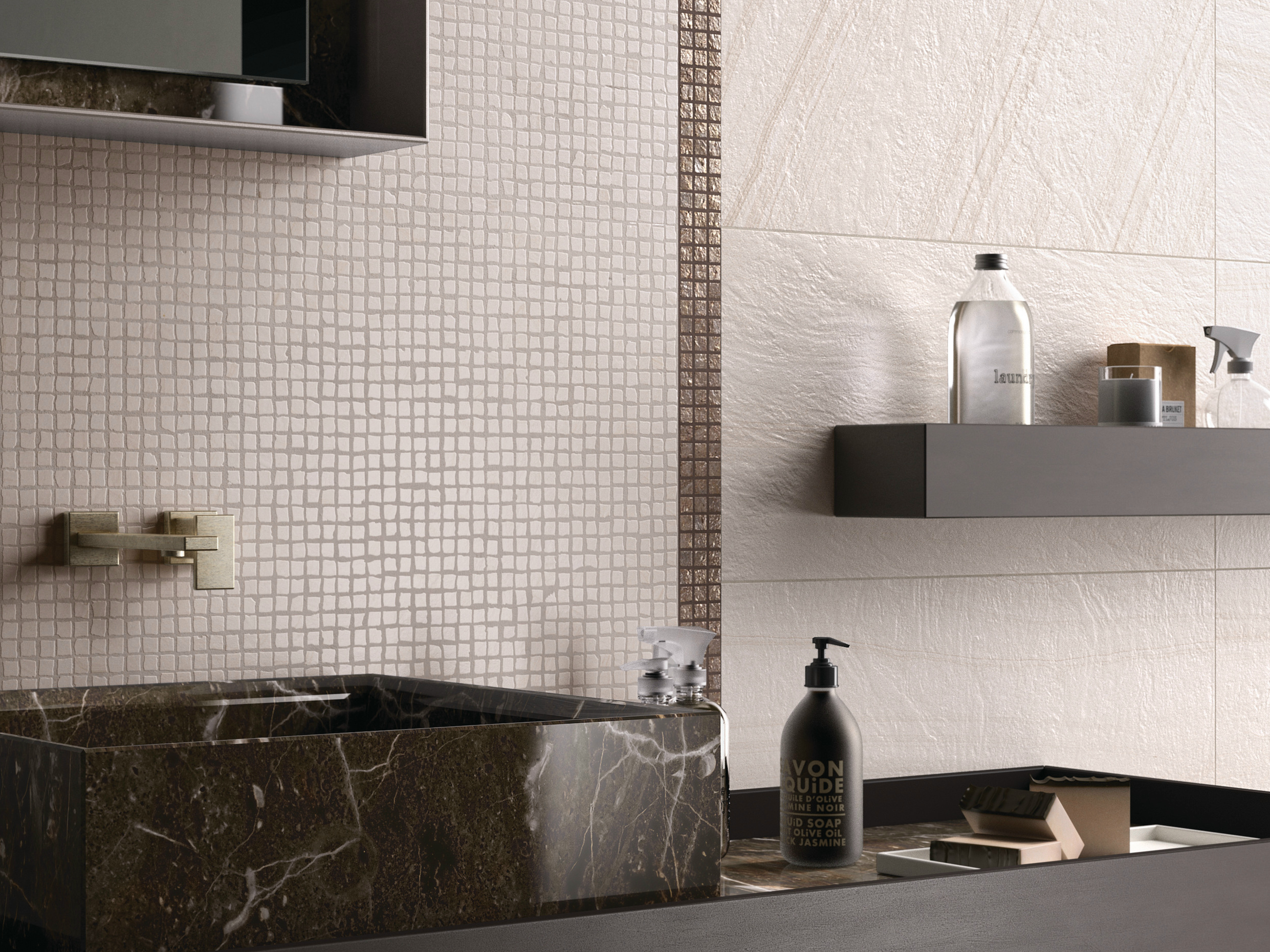 rev tement de sol mur en gr s c rame re work collection re work by abk industrie ceramiche. Black Bedroom Furniture Sets. Home Design Ideas