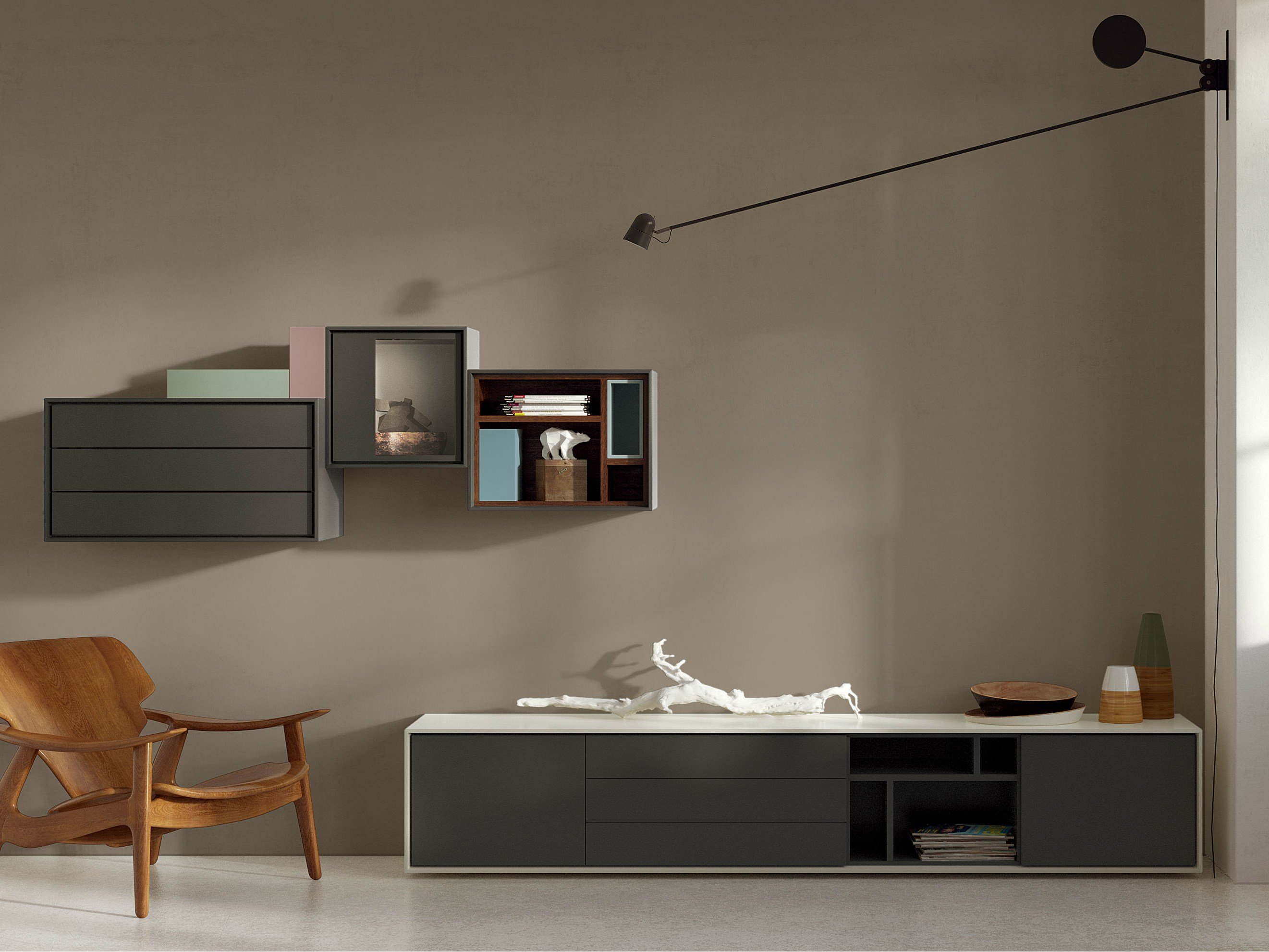 scopia sideboard by h lsta werke h ls. Black Bedroom Furniture Sets. Home Design Ideas