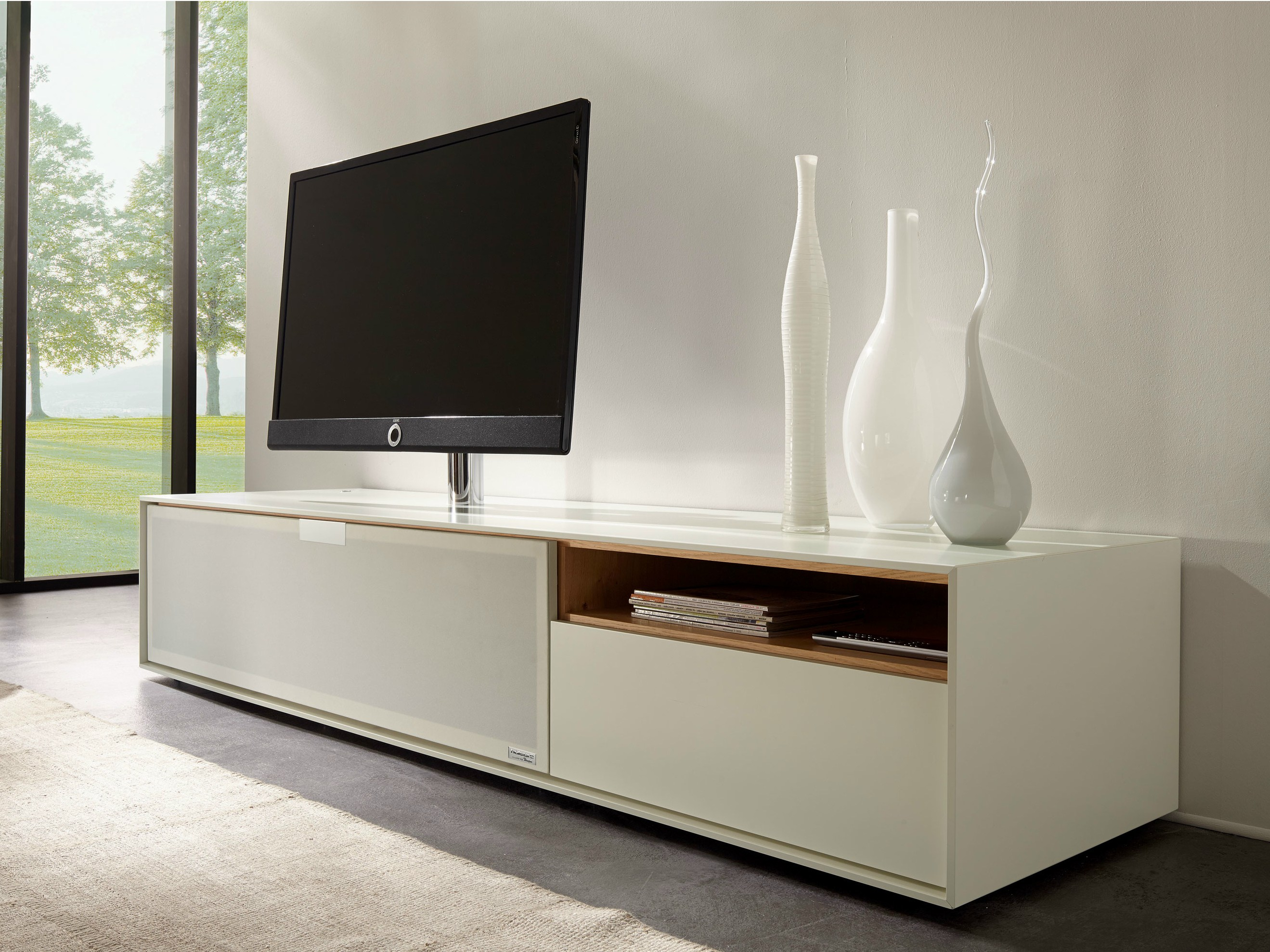 Scopia tv cabinet by h lsta werke h ls - Meuble bas tele ikea ...