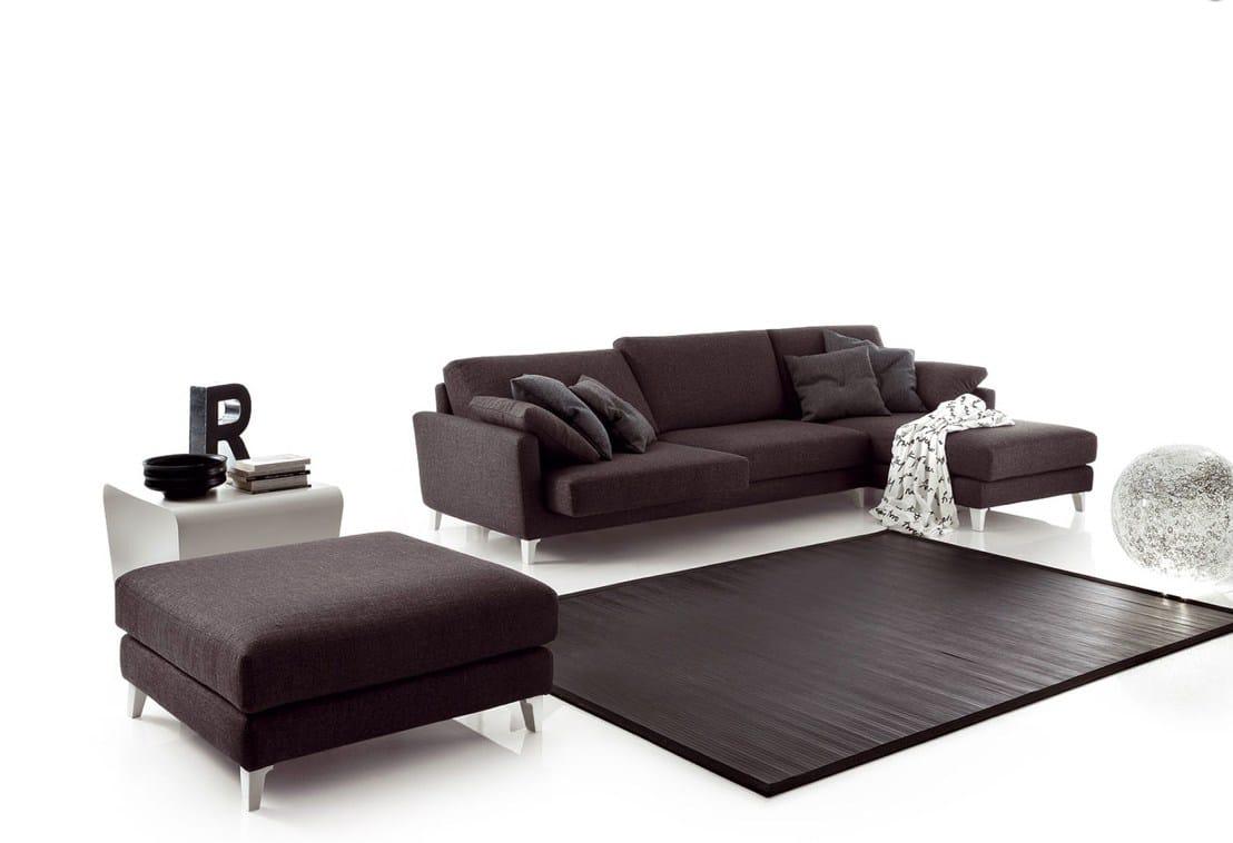 Divano componibile in tessuto aliant divano angolare by - Divano componibile angolare ...