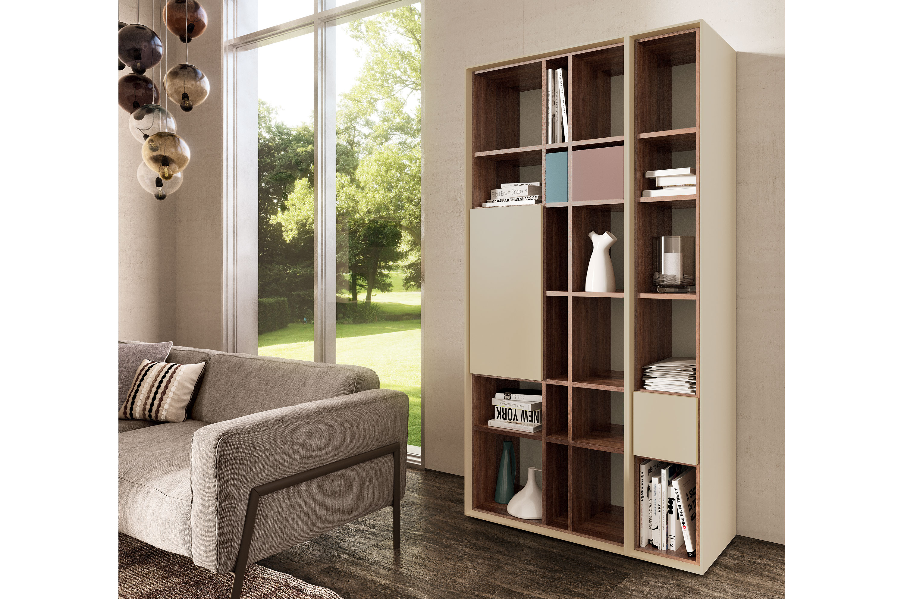 scopia offenes b cherregal by h lsta werke h ls. Black Bedroom Furniture Sets. Home Design Ideas